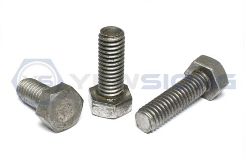 Hexagon Head Bolt Mild Steel 4.6