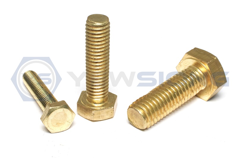 Brass Hexagon Bolt