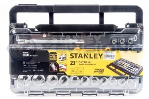 Socket Set 23pcs Stanley Front