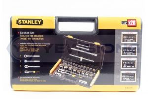 Socket Set 26pcs Stanley Closed