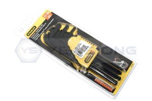 Stanley Hex Key Set 9pc Long Arm Ball Point